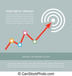 Growth trend diagram