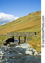Small bridge  - small bridge honister pass uk lakes