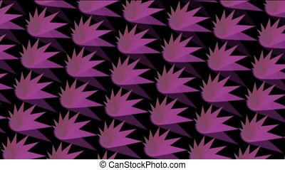 abstratct rotation purple pattern,seamless loop