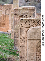 Ancient monastery Noravank in Armenia - Sacred place at...