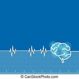 Brain electromagnetic impulse activity