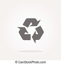 vector Icon Series - Recycle Sign