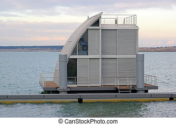 Schwimmendes Haus - swimming house 10