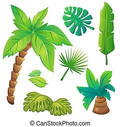 Jungle trees Clip Art Vector Graphics. 10,742 Jungle trees EPS ...