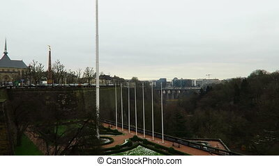 Luxembourg Boulevard Roosevelt - Luxembourg City, Luxembourg...