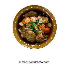 Estonian stew pork - Klassikaline Ahjuliha - Estonian stew...