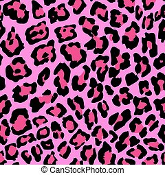 Leopard Pattern A - Vector Illustration of Leopard Print...