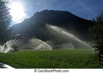 Wassersprenger - irrigation system 01