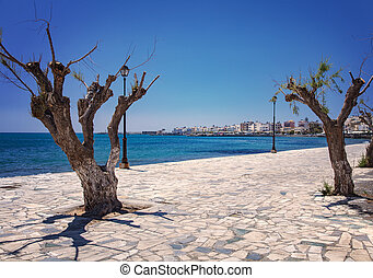 Lerapetra seaside resort - Image of the seaside resort of...