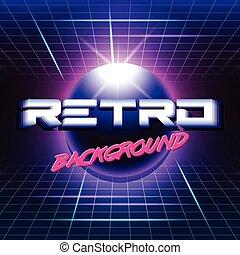 retro sci fi background3