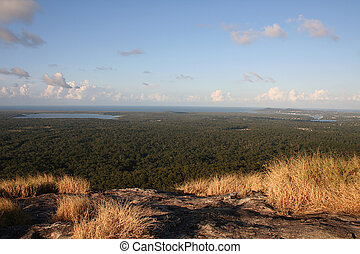 View of Noosa from Mount Cooroy, Sunshine Coast, Queensland,...