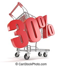 30% - thirty percent discount