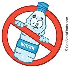 Restricted Symbol Over A Bottle