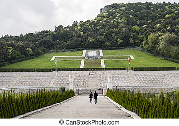 Polish WWII Cemetary in Monte Cassino, Italy