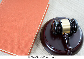 Statute book - statute book and judges gavel