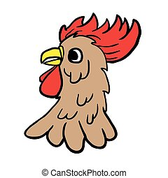 rooster cartoon