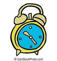 alarm clock cartoon illustration