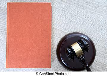 Statute book - statute book and judges gavel
