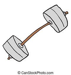 weight cartoon