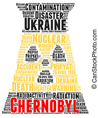 Chernobyl word cloud - Chernobyl accident word cloud