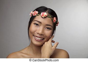 Beautiful face - Young women with beautiful face