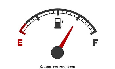 fuel tank gauge dropping from full to empty and getting...