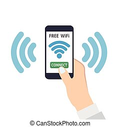 Free wifi wireless connection