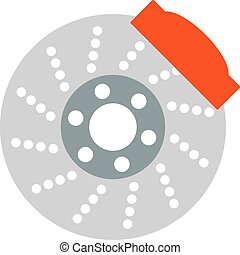 Car brake discs system spare part auto repair vehicle metal...
