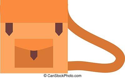 Work briefcase vector illustration.