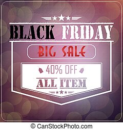 Black Friday sale - Illustration of Black Friday sale on...