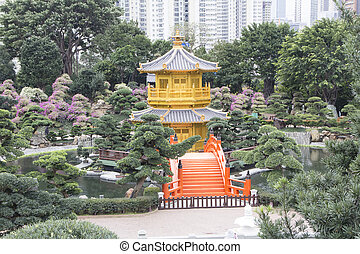 Chi Lin Nunnery, peaceful place amongst the buildings - Chi...
