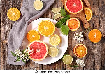 柑橘類, フルーツ
