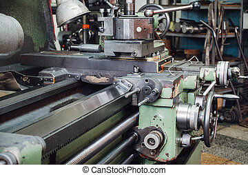 The old machine tool equipment