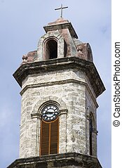 tower - forefront of a tower of the cathedral of San...