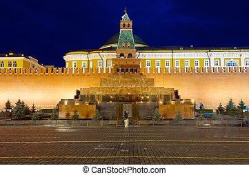 Lenin, mausoleo,