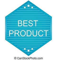Best product blue Label - Best product blue Label. Veector...