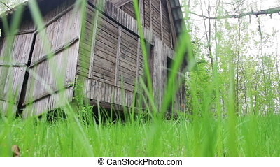 Old Scary Wooden House in the Woods - Old gothic, abandoned...