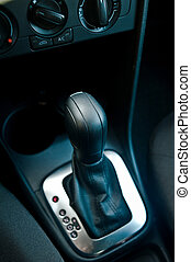 car transmission close up