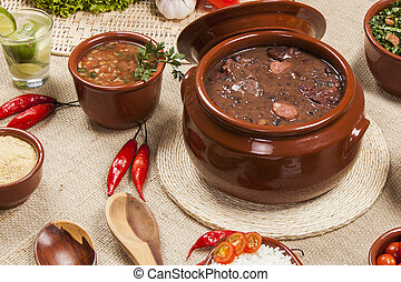 Feijoada, the Brazilian cuisine tradition