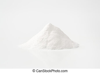 heap of cooking soda - heap of baking soda sodium...