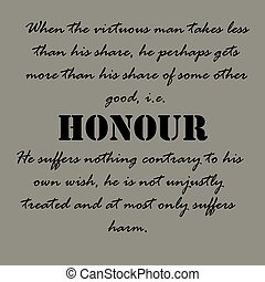 Aristotle Quotes. When the virtuous man ... - When the...