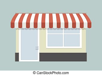 small store front