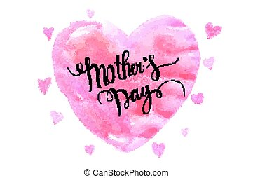 mothers day hand lettering