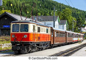 narrow gauge railway, Mariazell, Styria, Austria