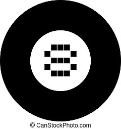 eight ball symbol - Creative design of eight ball symbol