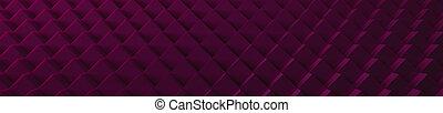 3D Magenta Cubes Website Head - A 3d magenta cubes...