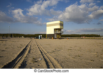 Construction site - A construction site in Almere, the...