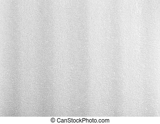 Bubble Styrofoam - White Packing Foam Texture Background...