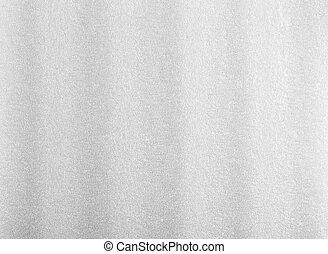 Bubble Styrofoam - White Packing Foam Texture Background...