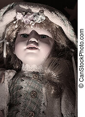 porcelain doll - Creative design of porcelain doll